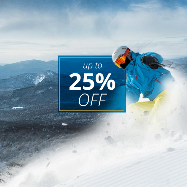 Up to 25% Off Winter Stays